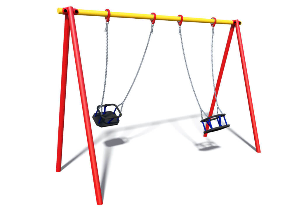 One Bay Two Cradle Swing