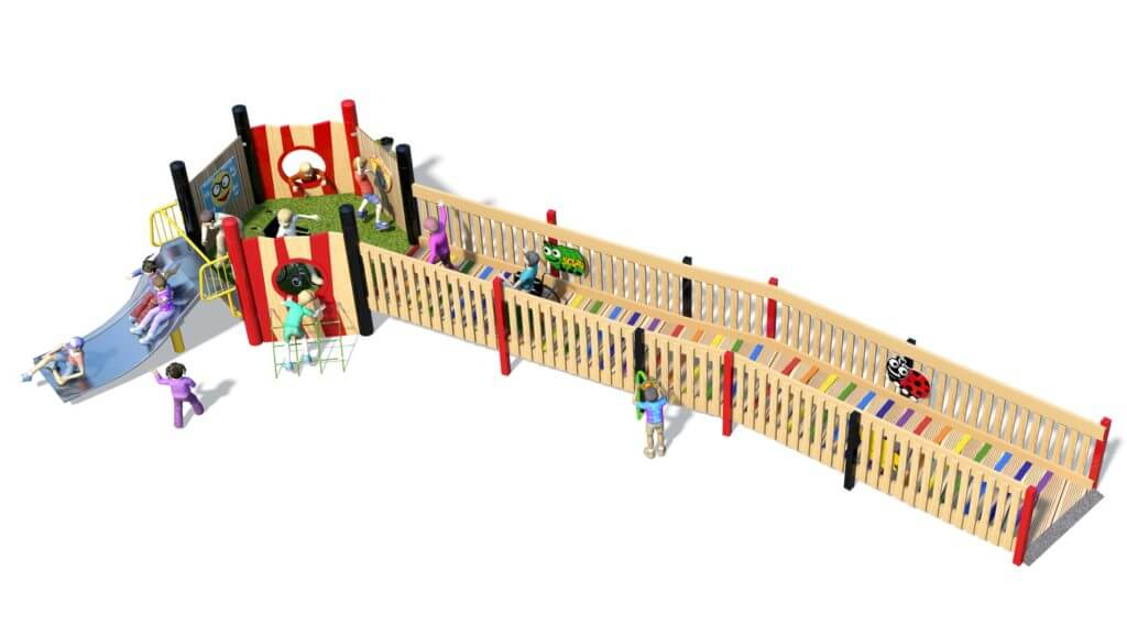 Single Tower Inclusive Multi Play Unit